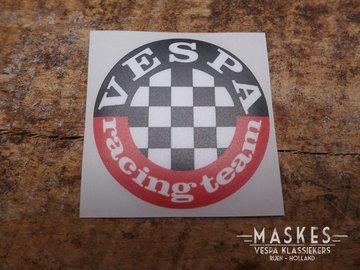 Sticker VESPA racing team