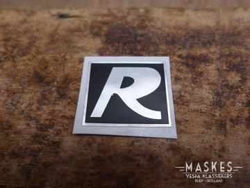 Logo R sticker