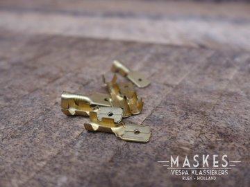 Schuifstekker 6 mm (mannetje)
