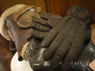 Handschoen gevoerd zwart
