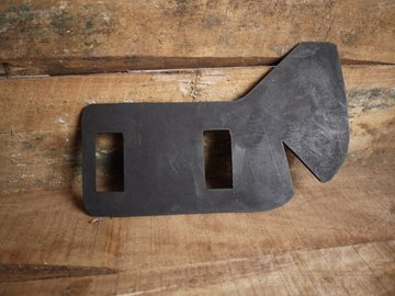 Rubber boven achterschokbreker V1-33
