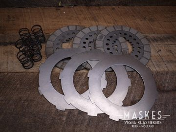 Set koppelingsplaten GS150