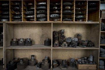Honen van cilinder