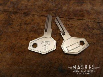 Blanke sleutels per stuk
