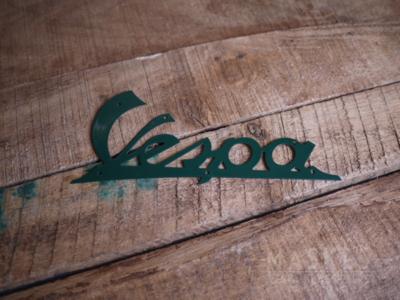 Logo Vespa donkergroen