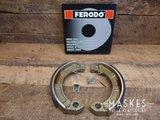 Remvoering Ferodo achter o.a. GT/GS150/GL-X/Sprint/GS160/SS180/Rally/P-serie/PX_