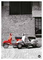 Poster Vespa Rally200
