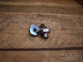 Nut for rim,''M8, wrench 22'' ''Chromed'' V1-15/V30-33/VU/VM