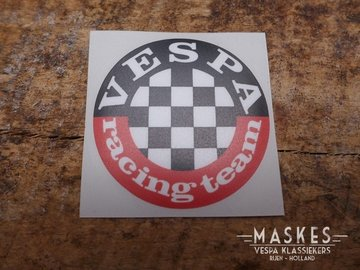 Sticker VESPA racing team