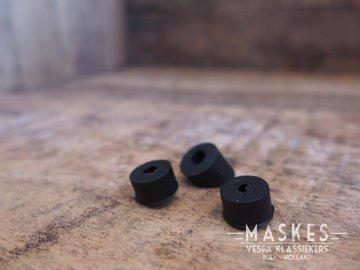 Anti tril rubber kentekenplaat