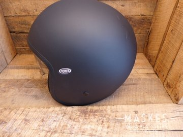 Premier helm mat zwart