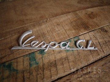 Logo Vespa GL aluminium