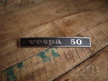 Logo Vespa 50 V50