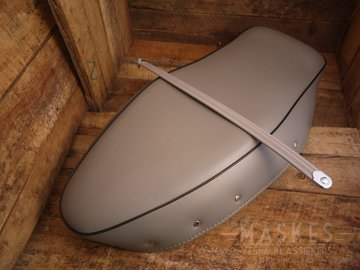 Zadelovertrek grijs GS160