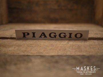 Logo 'PIAGGIO' voor achterop zadel PX-serie
